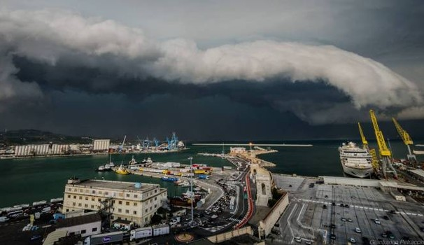 Meteo ASSAM Regione Marche - shelf cloud ancona