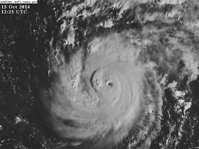 Meteo ASSAM Regione Marche - Uragano Gonzalo da satellite